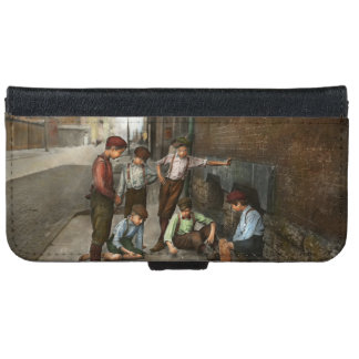 Kids - Cincinnati OH - A shady game 1908 iPhone 6/6s Wallet Case