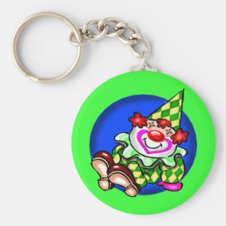 Kids Circus Clown T Shirts and Gifts Keychain