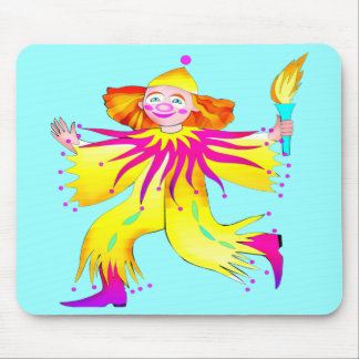 Kids Circus Clown T Shirts and Gifts Mouse Pad