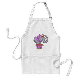 Kids Circus Elephant Apron