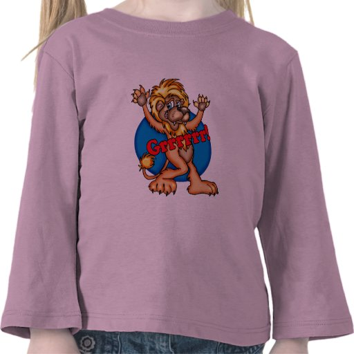 Kids circus lion t shirts and gifts zazzle for Bc lions t shirts