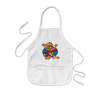 Kids Circus Lion T Shirts and Gifts Kids' Apron