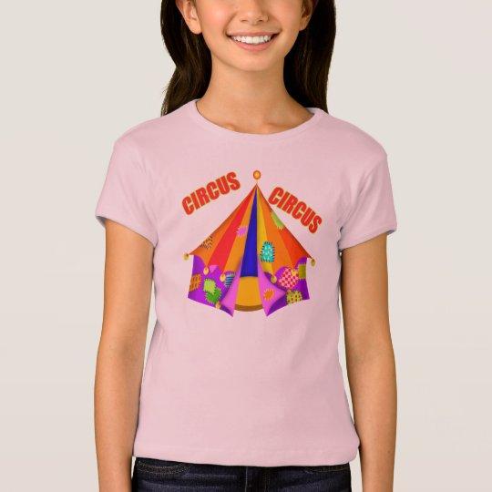 Kids Circus Tent T Shirt