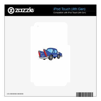 KIDS CLASSIC CAR SKINS FOR iPod TOUCH 4G