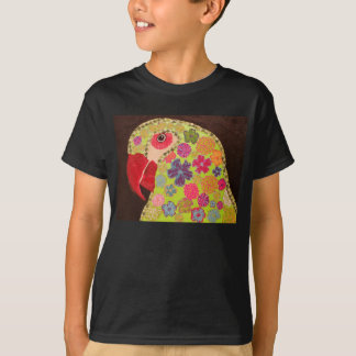 Kids Comfort T-Shirt with Bright Parrot Design