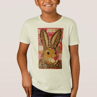 Kids Comfort T-Shirt with Bright Rabbit Design