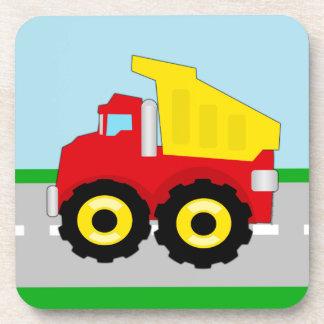Kids Construction Dumptruck Coaster