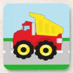 Kids Construction Dumptruck Coasters
