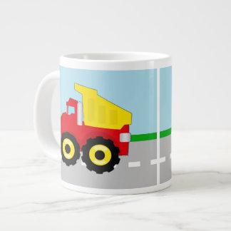Kids Construction Dumptruck Giant Coffee Mug