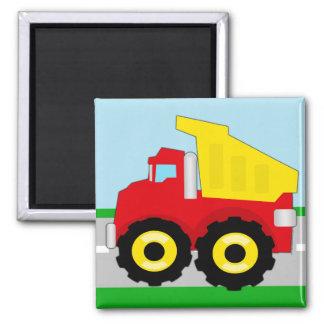 Kids Construction Dumptruck Magnet