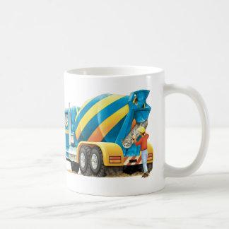 Kids Construction Truck Concrete Mixer Mug
