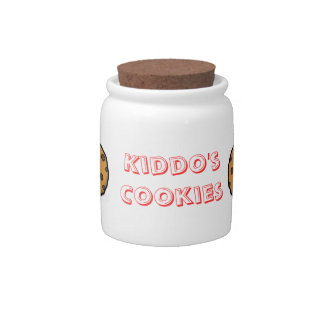 Kids Cookie Jar Candy Dish