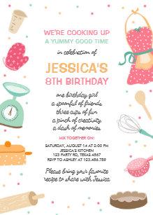 Kids Birthday Invitations Zazzle