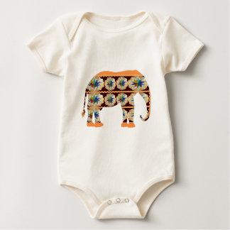 KIDs Corner - Painted Elephant Bodysuit