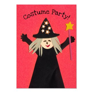 Kids Costume Party Invitation