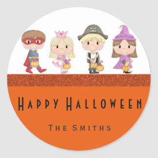 Kids costumes stickers