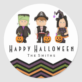 Kids costumes stickers II
