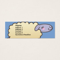 Kids Counting Sheep Skinny Profile Cards