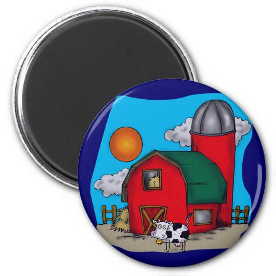 Kids Cow T Shirts and Gifts Magnet