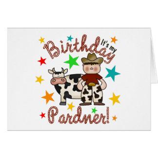Kids Cowboy Birthday Card