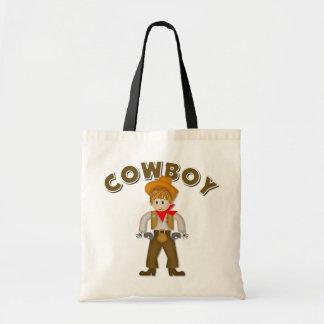 Kids Cowboy Gift Budget Tote Bag