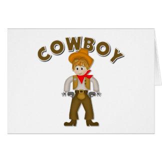 Kids Cowboy Gift Greeting Card