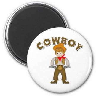 Kids Cowboy Gift Refrigerator Magnets