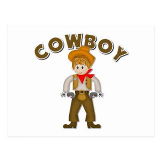 Kids Cowboy Gift Postcard