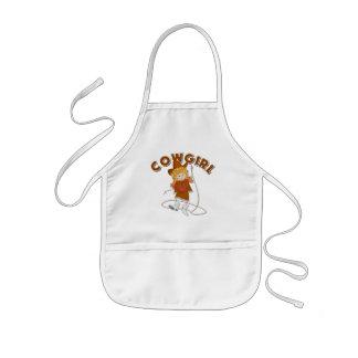 Kids Cowgirl Gift Kids' Apron