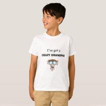 Kids Crazy Granpa t-shirt