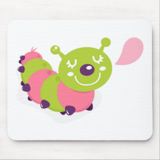 KIDS CREATIVE DESIGN COLLECTION WITH WORM MOUSE PAD
