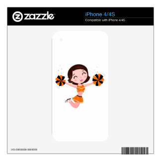 Kids creative tshirts and more with School girl Skin For iPhone 4
