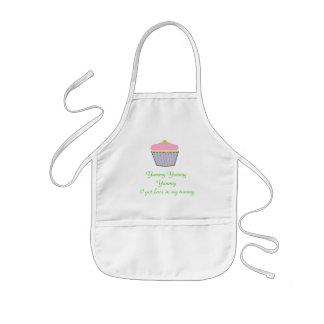 Kids cupcake apron