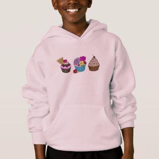 Kids Cupcake Jumper Hoodie