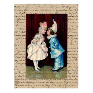 Kids Curtsy ~ Postcard / Invitations