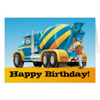 Kids Custom Concrete Mixer Truck Happy Birthday Card E A Xvuak Byvr Jpg 324x324