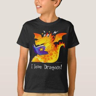 Kid's Custom Funny Halloween Dragon T-Shirt