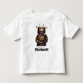 Kids Custom Funny Little Robot Toddler T-shirt