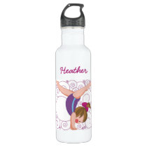 Kids Custom Gymnastics Sports Bottle