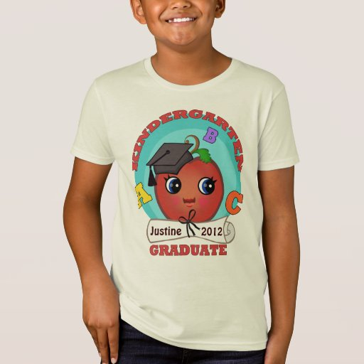 Kid's Custom Kindergarten Graduation T-Shirt