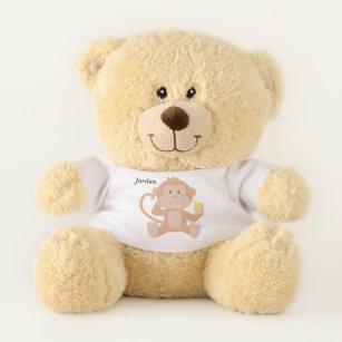 Cute Monkey Stuffed Animals Plushies Zazzle