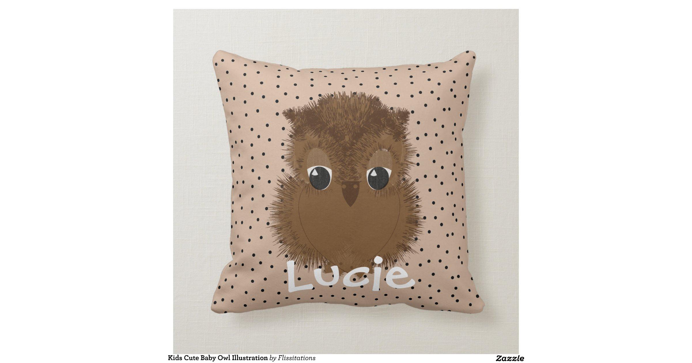Cute Pillow Illustration : kids_cute_baby_owl_illustration_throw_pillows-r0bd97cb8e06241b493690b89f1dd09d1_i5fqz_8byvr_1200 ...