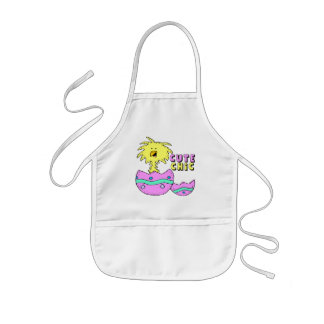 Kids Cute Chick T Shirts and Gifts Kids' Apron