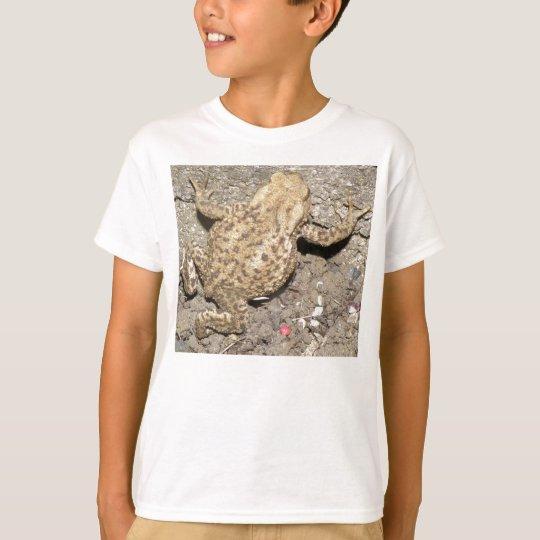 Kids Cute Crawling Toad T Shirt