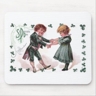 Kids Dance on St Patrick's Day Mouse Pad