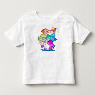 Kids Dancing Clowns T Shirt
