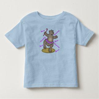 Kids Dancing Teddy Bear T Shirt