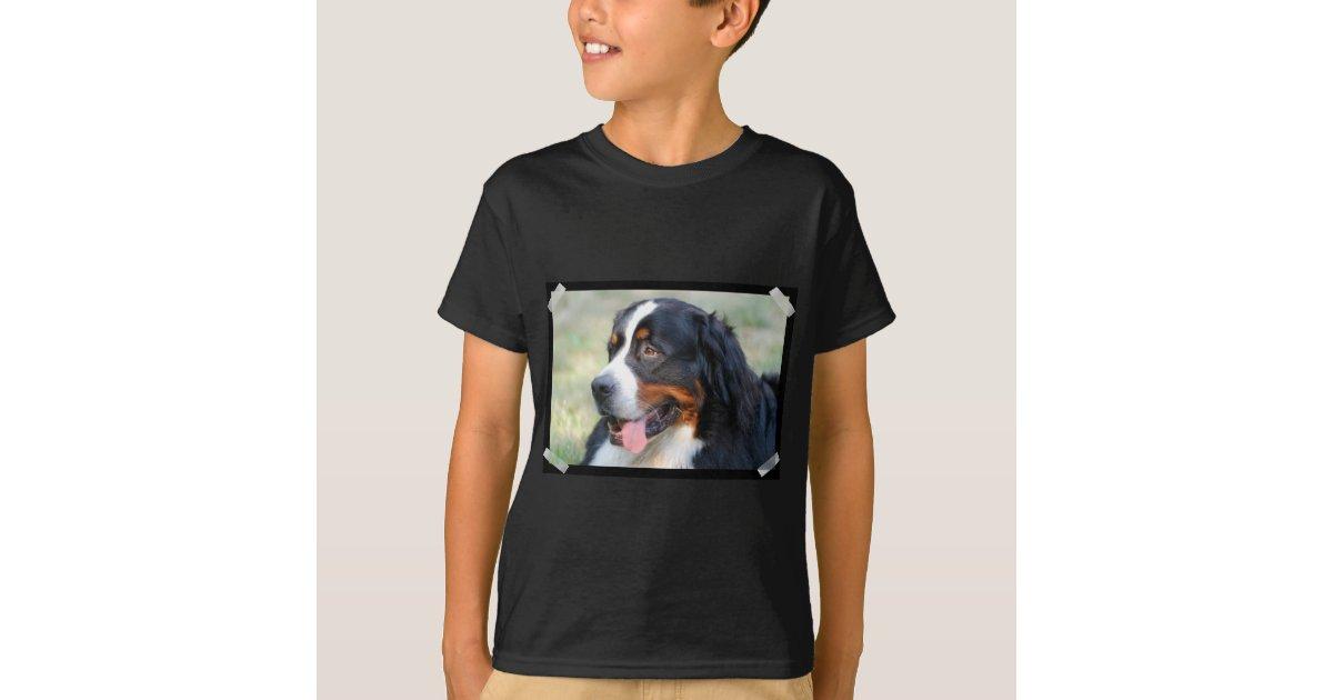 Kids dark t shirt vertical template customized zazzle for Zazzle t shirt template