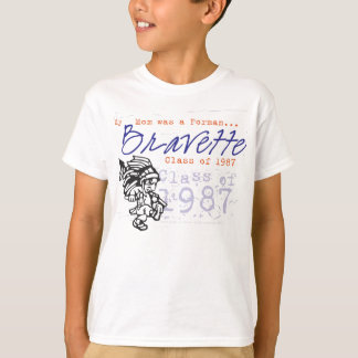Kids Daughter of a Bravette 87 shirt