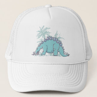 Kids Dinosaur Stegosaurus illustrated hat